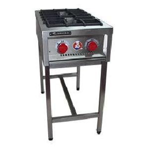 Anafe industrial 2 platos 35X35 Inox