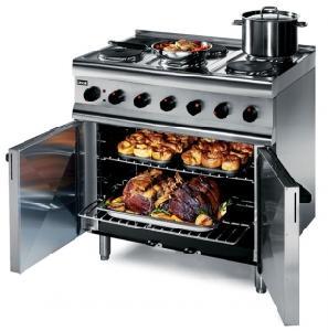 Cocina industrial electrica con horno eslr9c lincat famava for Hornos de cocina electricos