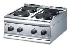 Cocina industrial electrica ce 4 lincat famava for Cocina industrial electrica