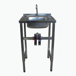 Lavamanos llave rodilla lmr 50x50 famava famava for Precio llave lavamanos