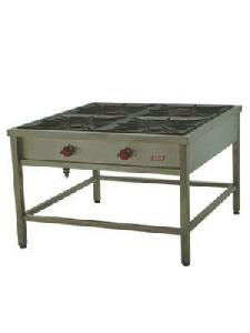 Anafe industrial 4 platos 50X50 Inox